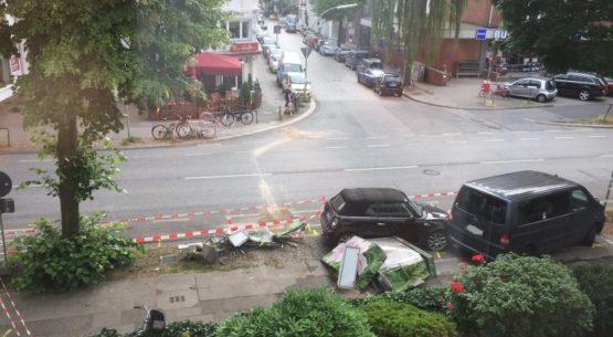 Schwerer Unfall auf der Uhlenhorst